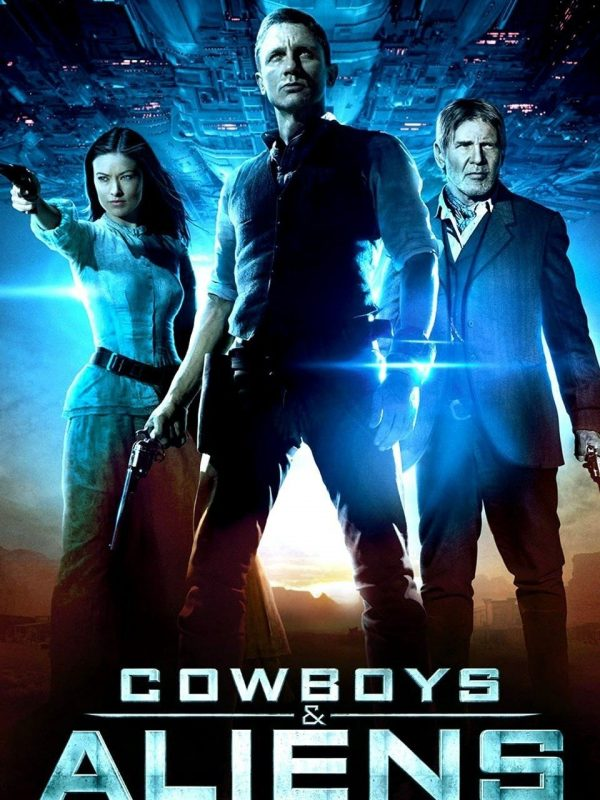 Cowboys and Aliens Movie Cover Comic